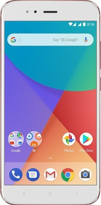 Mi A1 (Rose Gold, 64 GB)(4 GB RAM)