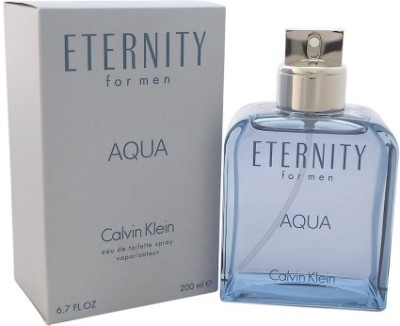 Calvin Klein Eternity Aqua Perfume Perfume  -  200 ml(For Men)  available at flipkart for Rs.5209