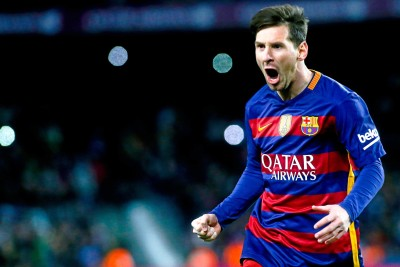 KumkumArts Lionel Messi Poster 12 x 18 Inch HD Quality Material Gloss Paper. Paper Print(12 inch X 18 inch, Rolled)