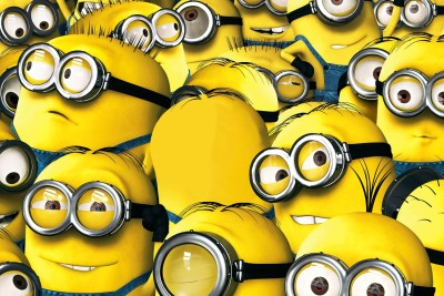 MINIONS 2015 ANIMTAED POSTER Paper Print(12 inch X 18 inch)