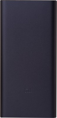 Mi 10000 mAh Power Bank (PLM09ZM,  2i)(Black, Lithium Polymer)