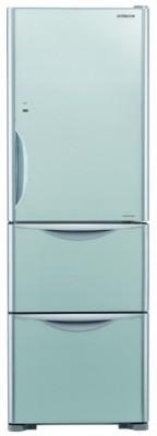 Hitachi 404 L Frost Free Triple Door Bottom Mount Refrigerator(Glass Silver, R-SG38FPND)