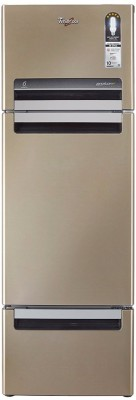 Whirlpool 240 L Frost Free Triple Door Refrigerator(Sunset Bronze, FP 263D Protton Roy)  available at flipkart for Rs.24999