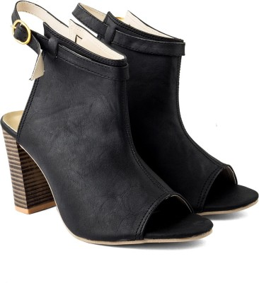 Cuty Fashion Women Black Heels
