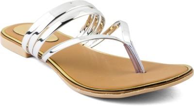 Cuty Fashion Women Silver Flats