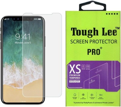 Tough Lee Tempered Glass Guard for Apple iPhone X(Pack of 1)