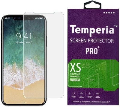 Temperia Tempered Glass Guard for Apple iPhone X(Pack of 1)