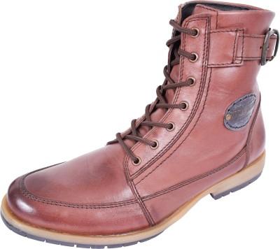 Maplewood Raptor-Brown Boots For Men(Brown) at flipkart
