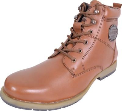 Maplewood Duncan-Tan Boots For Men(Tan) at flipkart
