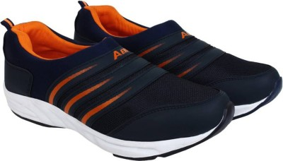 Aero AMG Performance Running Shoes(Blue, Orange) at flipkart