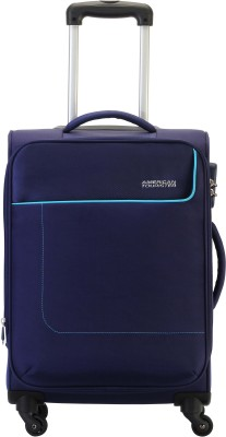 American Tourister Jamaica Expandable  Cabin Luggage - 22 inch(Blue)