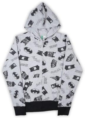 United Colors of Benetton Full Sleeve Printed Boys Sweatshirt at flipkart