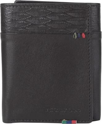 Peter England Men Brown Genuine Leather Wallet(6 Card Slots)