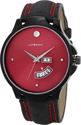 Lapkgann couture R.C.R.F.C 01 Day & Date Red Diamond Hybrid Watch  - For Boys
