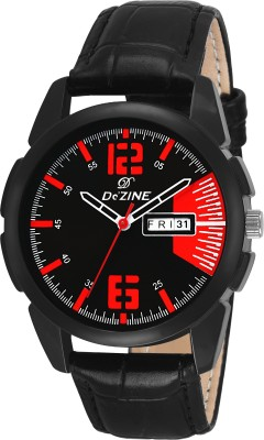 Dezine DZ-GR048-RD-BLK  Analog Watch For Men