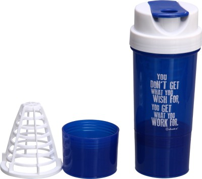 iShake Tornado 500 ml Shaker, Sipper(Pack of 1, Blue)  available at flipkart for Rs.255