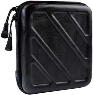 Shrih Black Hard Drive Carrying Case 3.5 inch Hard Disk Case(For Universal, Black)