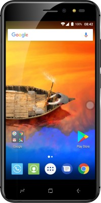 Intex Aqua Lions X1+ (Black, 32 GB)(3 GB RAM)