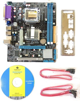 Zebronics ZEB-G31 Motherboard(Brown)
