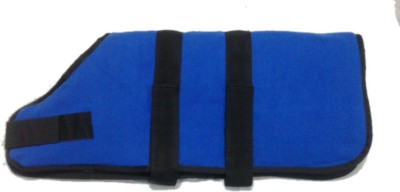 Arena pet house Coat, Life Jacket, Dress, Track Suit, Sweater for Dog, Cat, Rabbit, Monkey(ROYAL BLUE, BLACK)  available at flipkart for Rs.625