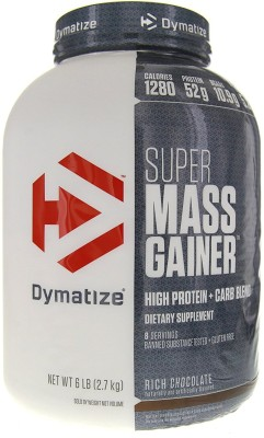 Dymatize Super Mass Weight Gainer (2.72Kg Chocolate),