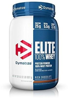 Dymatize Elite 100% Whey Protein(907 g, Rich Chocolate)