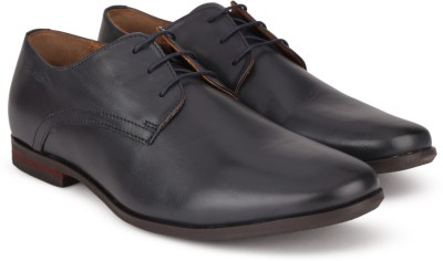 Hush Puppies By Bata SUAVE DERBy Lace Up For Men(Black) at flipkart