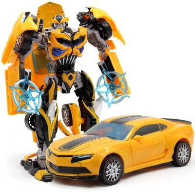 0ef541716cf55 Miss Chief Bumblebee Transformer RC car Yellow Best Price in India ...