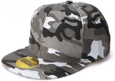 BnB Graphic Print Snapback, Military, Hiphop, camouflage Cap  available at flipkart for Rs.259