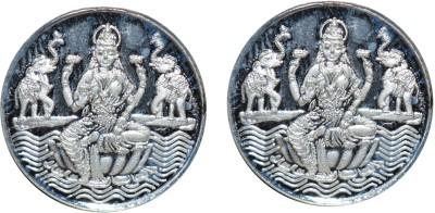 Kataria Jewellers Laxmi Mata S 999 3 g Silver Coin Pack of 2