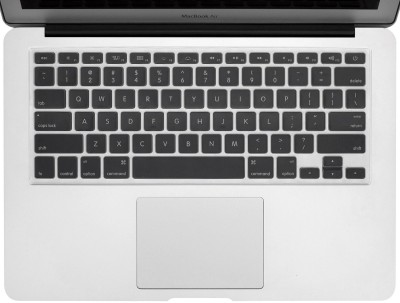 Saco Silicone Chiclet Protector Cover Fit for Apple MGX72HN/A MacBook Pro Notebook Laptop Keyboard Skin(Transparent)  available at flipkart for Rs.355