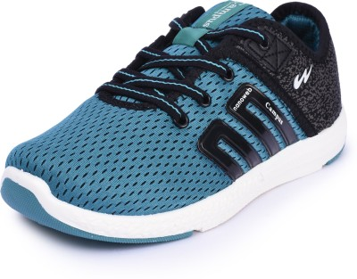 Campus Boys Lace Walking Shoes(Blue, Pck-blk
