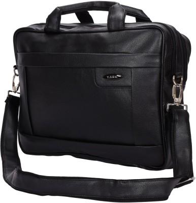 YARK 15.6 inch Laptop Messenger Bag Black YARK Laptop Bags