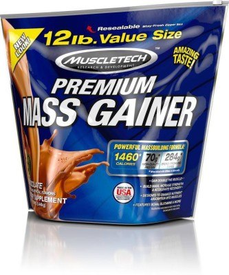 MuscleTech Premium Mass Gainer (5.44Kg, Chocolate)