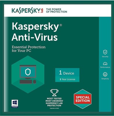 ESET ESET NOD32 Antivirus (1PC / 1Year) Latest Version Antivirus