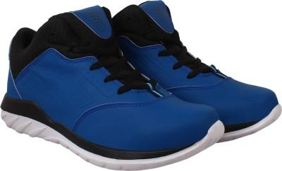 Aero Aspire Hiking & Trekking Shoes For Men(Black, Blue)