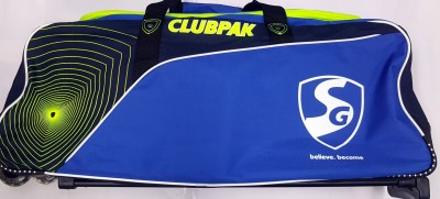 SG CLUBPAK CRICKET ( TROLLEY BAG )(Multicolor, Kit Bag)
