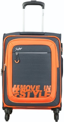 5bdfa53a25f9 50% OFF on Skybags HASHTAG 4W EXP STROLLY 59 GREY Check-in Luggage -