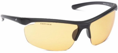 Fastrack Sports Sunglasses Yellow