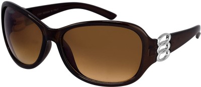 hanley Wayfarer Sunglasses(Brown)
