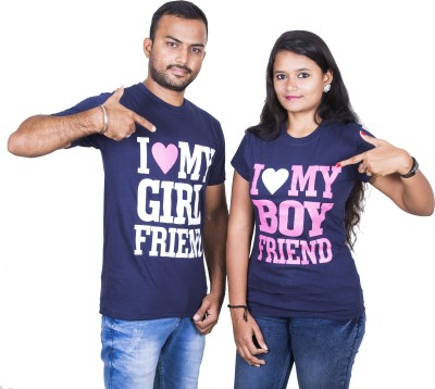 Indian Aurochs Printed Men & Women Round Neck Blue T-Shirt(Pack of 2) Flipkart