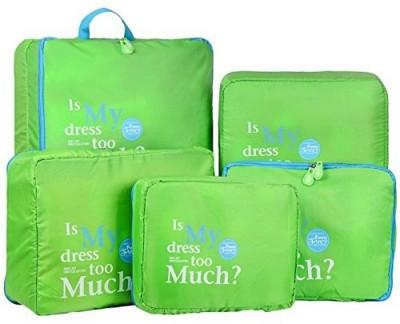 22% OFF on Styleys 5 pcs, 1 Set Travel Organizer Packing Cubes (Green)(Green) on Flipkart | PaisaWapas.com