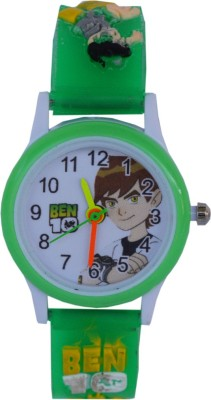 VITREND Ben-10 Green (Random color will be sent) Round Dial New Analog Watch  - For Boys & Girls