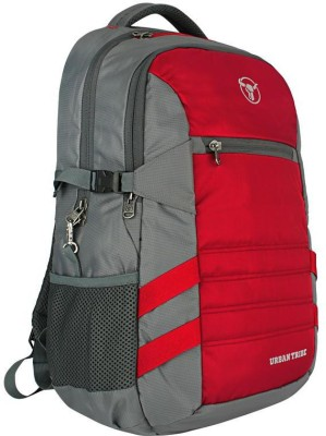 Urban Tribe Battle Tank 30 L Laptop Backpack Red, Grey