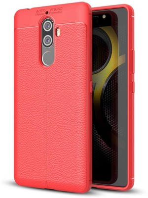Micvir Back Cover for Lenovo K8 Plus(Black, Rugged Armor, Rubber, Plastic)
