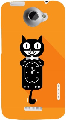 Snapdilla Back Cover for HTC One X, HTC One X, HTC One X Plus, HTC One XL(Good Looking Tom And Jerry Cartoon Cat Classic Timer Mobile Pouch, Plastic)