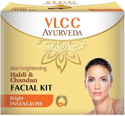 VLCC Skin Brightening Haldi & Chandan Facial Kit (5 Step Kit)