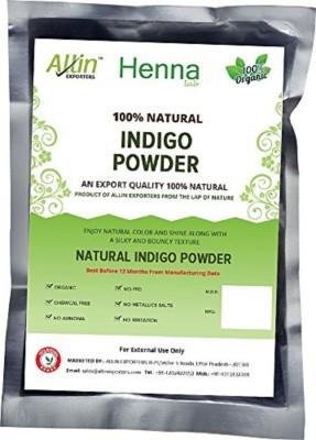 Allin Exporters Indigo Powder - 100% Organic And Natural Way of Coloring Hair - ( 60 Gram = 1 Packet)(60 g) Flipkart