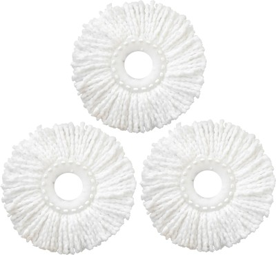 Fashion Rokz Mop refill (set of 3) Wet & Dry Mop(White)  available at flipkart for Rs.219