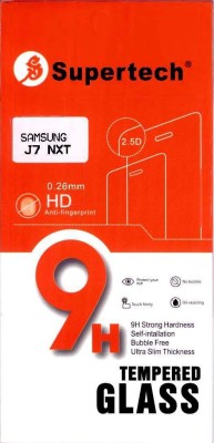 Supertech Tempered Glass Guard for Samsung Galaxy J7 Nxt